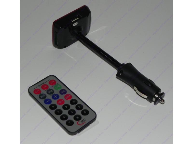 MP3 FM transmiter 12 + BESPL DOST. ZA 3 ART.
