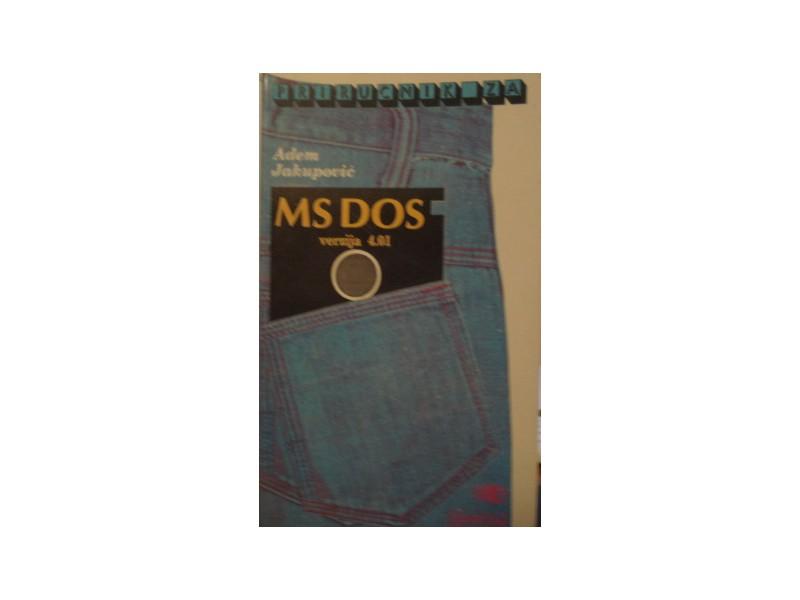 MS DOS verzija 4.01