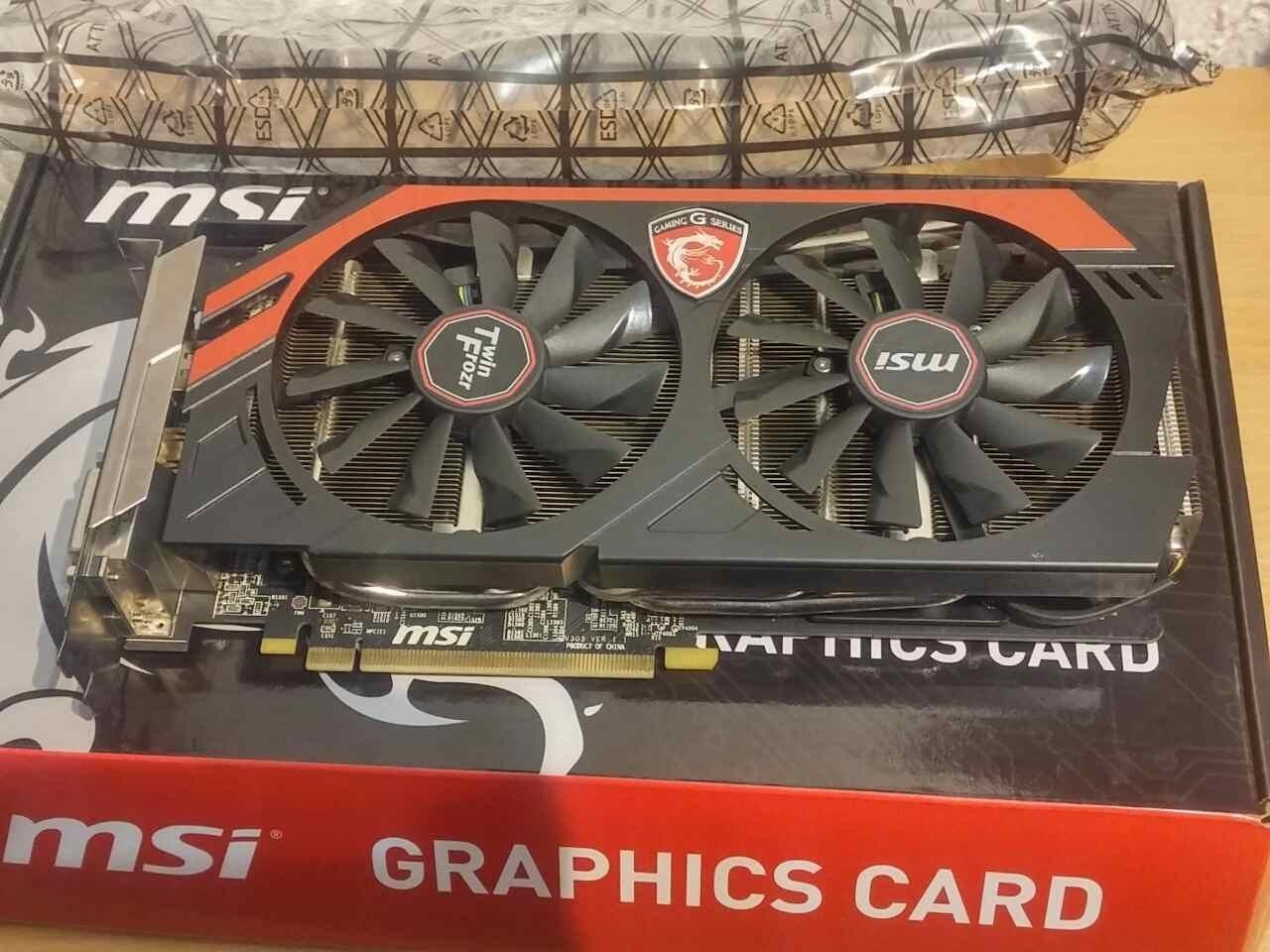 MSI AMD Radeon R9 270X 4GB 256bit R9 270X GAMING 4G LE