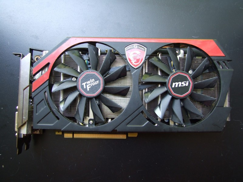 MSI GTX 770 2Gb DDR5 256Bita Twin Frozr Gaming!