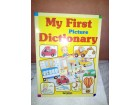 MY FIRST PICTURE DICTIONARY , NOVO