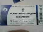 MZT Skoplje-Partizan 29.9.2017
