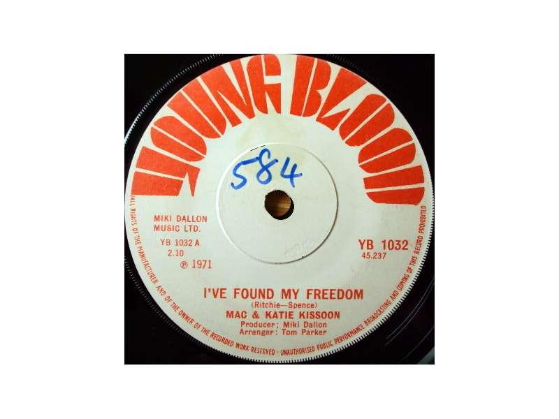 Mac And Katie Kissoon - I`ve Found My Freedom