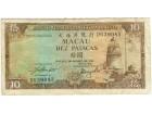 Macau 10 patacas 1981 59a