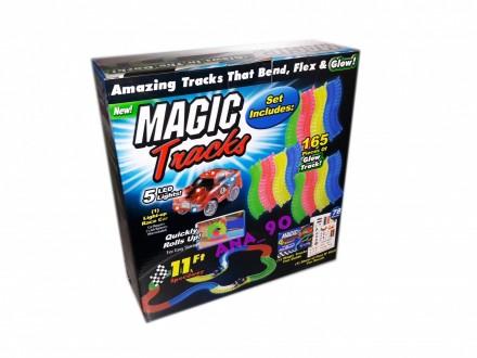 Magicna Staza Magic Tracks 165 delova 2,2m