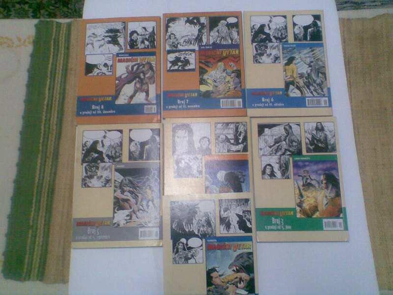Magični Vetar Systemcomics SC 1-7