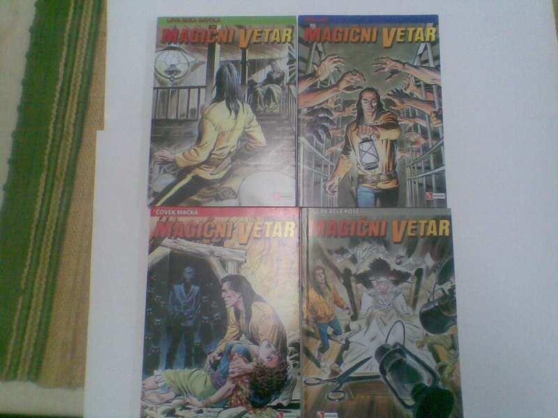Magični Vetar Wizard 1-4