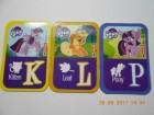 Magneti My little Pony - 7 slova