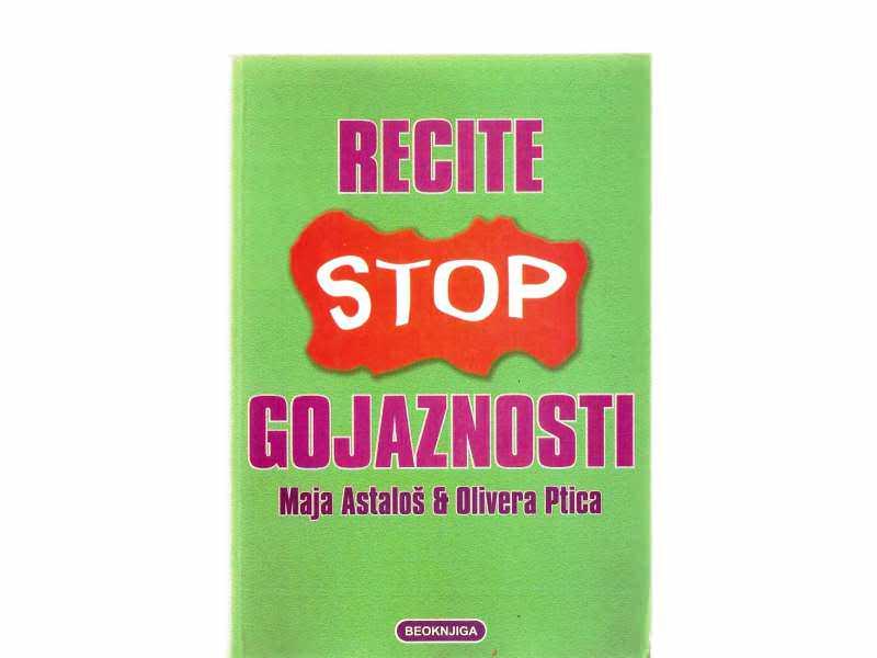 Maja Astalos i Olivera Ptica - Recite stop gojaznosti