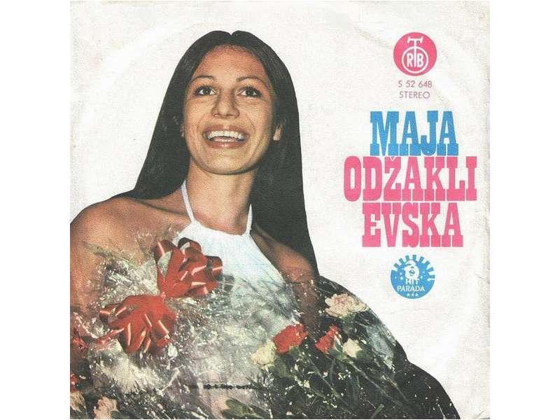 Maja Odžaklijevska - Kad Nežne Svirke Zamre Ton / V Oblak Sonce
