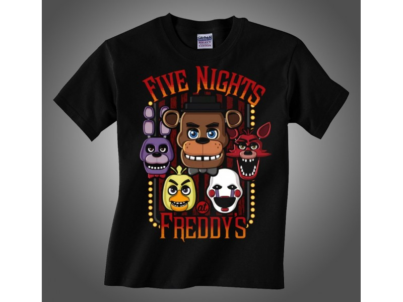 Majica Five Nights At Freddy`s