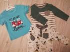 Majice za decaka 6-9 meseci 3 kom NOVO