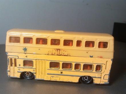Majorette British Bus 1/125