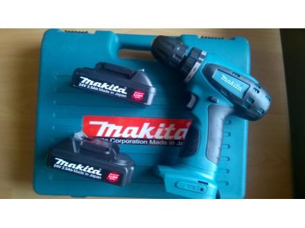 Makita 24v ,2 baterije Li jon 2.5Ah-nova