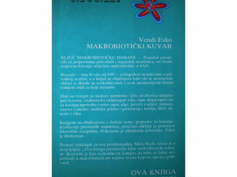 Makrobiotički Kuvar - Vendi Esko