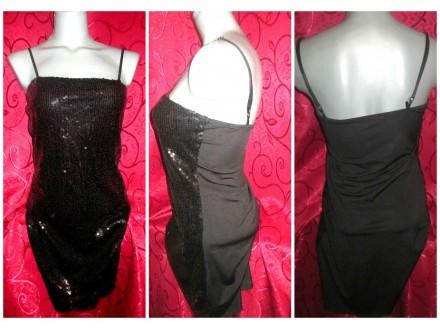 Mala crna haljina ITALIJANSKA kao nova