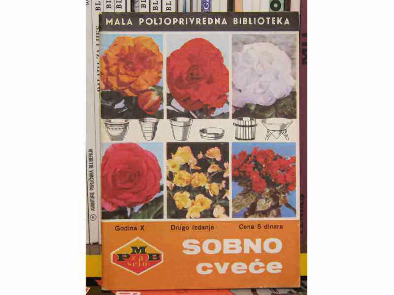 Mala poljoprivredna biblioteka  - Sobno cveće