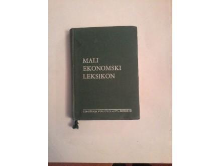 Mali ekonomski leksikon