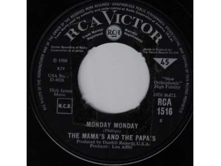 Mamas & The Papas, The - Monday Monday / Got A Feelin`