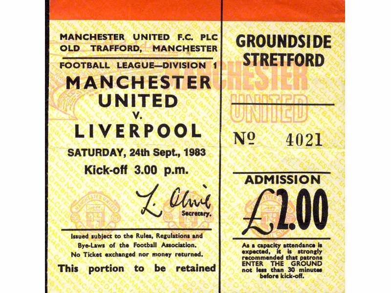 Manchester United - Liverpool   ,   1983.god.