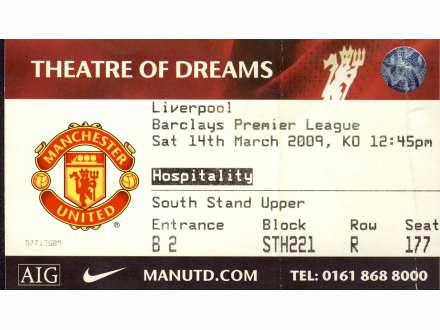 Manchester United - Liverpool   ,   2009.god.