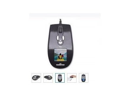 Manhattan Optical digital Photo Mouse, 1.5`` LCD / 8MB, black silver