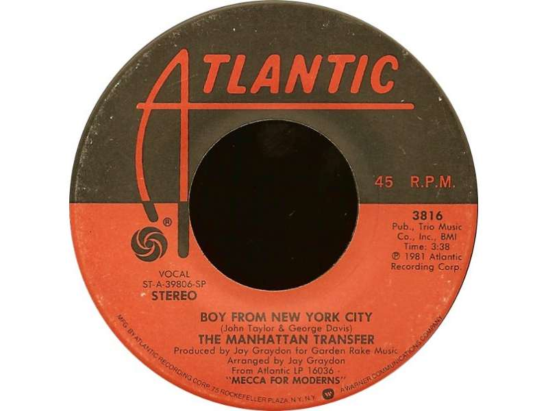 Manhattan Transfer, The - Boy From New York City / (The Word Of) Confirmation