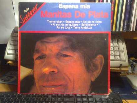 Manitas De Plata - Espana Mia - LP