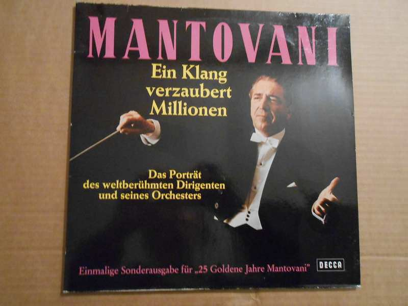 Mantovani - Ein Klang Verzaubert Millionen