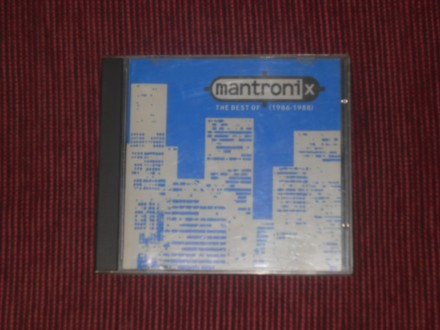 Mantronix - The Best Of (1986 - 1988)