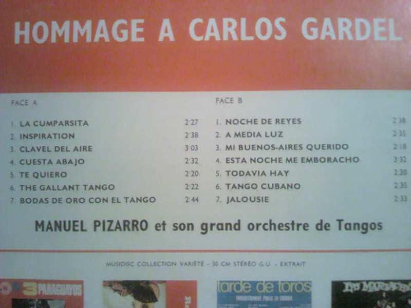 Manuel Pizarro Et Son Grand Orchestre Argentin - Untitled