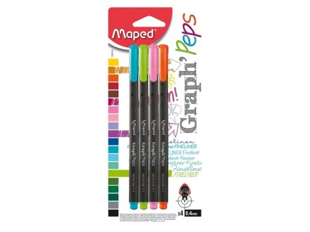 Maped Graph`Peps Fine liner 749143