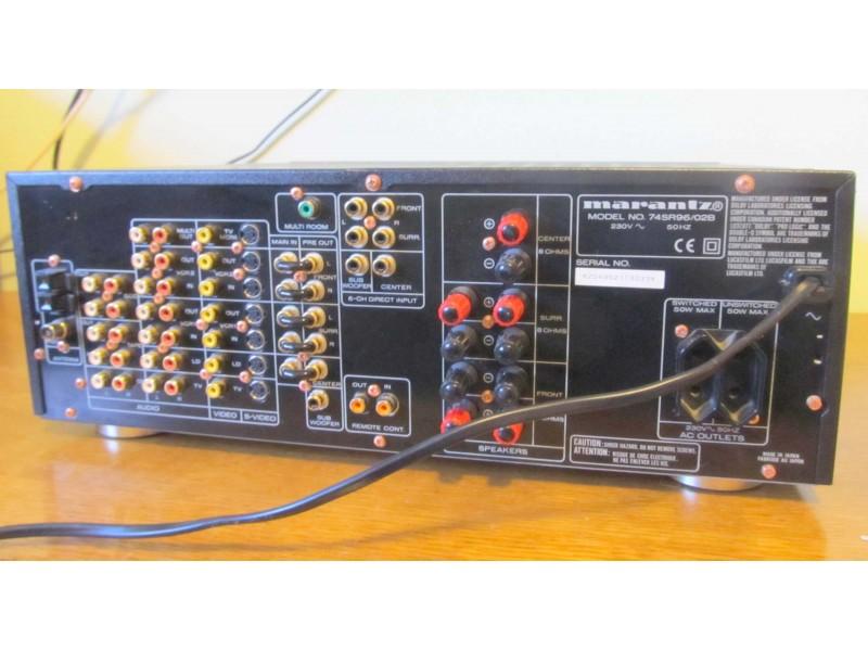 Marantz SR-96 Audio/Video Receiver (gabaritan i tezak)