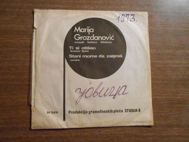 Marija Grozdanović - Ti Si Otišao