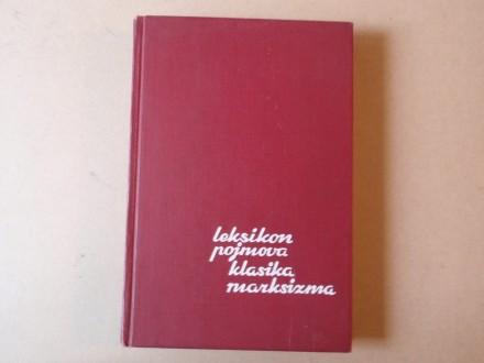 Marijan Filipović - Leksikon pojmova marksizma