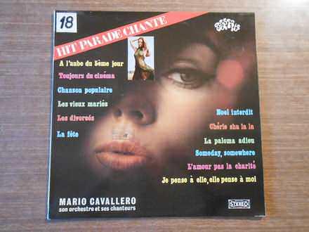 Mario Cavallero Et Son Orchestre - Hit Parade Chante - Pop Hits - Vol. 12
