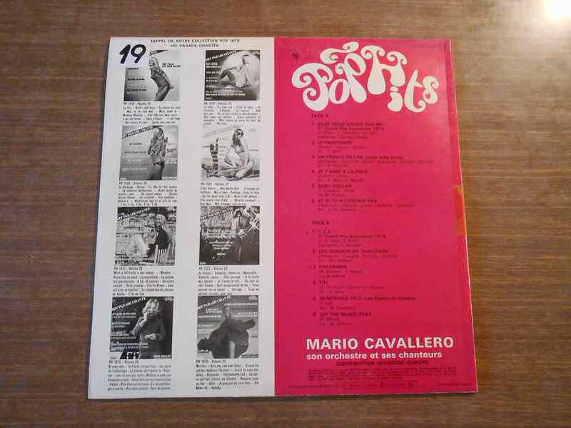 Mario Cavallero Et Son Orchestre - Hit Parade Chante - Pop Hits - Vol. 26
