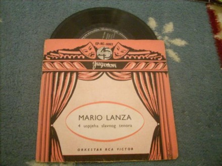 Mario Lanza Sings Because