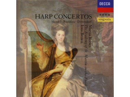 Marisa Robles, Iona Brown, Academy Of St. Martin-in-the-Fields, The - Harp Concertos