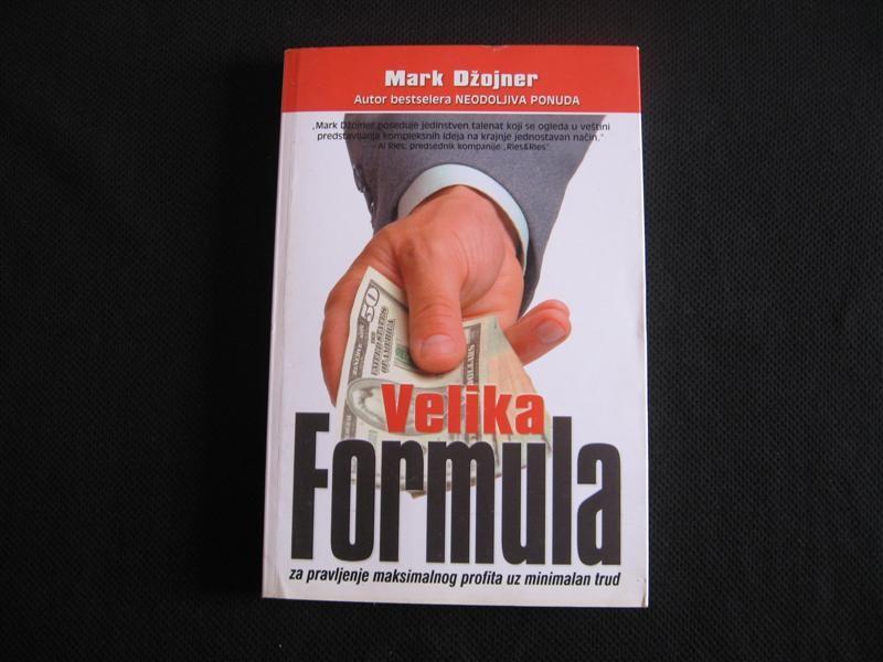 Mark Džojner, VELIKA FORMULA