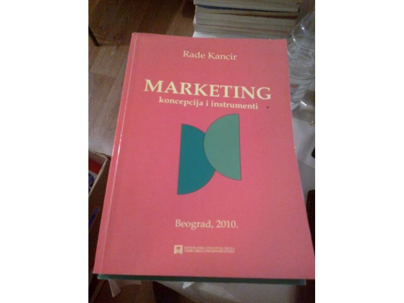 Marketing - Rade Kancir