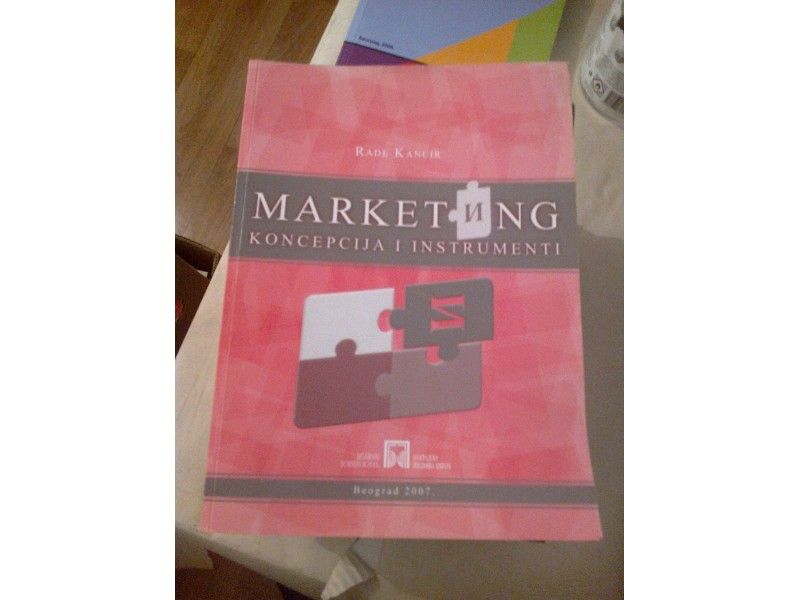 Marketing - Rade Kancir