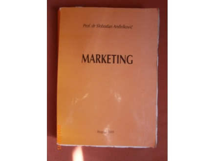 Marketing, Slobodan Andjelkovic