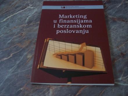 Marketing u finansijama i berzanskom poslovanju