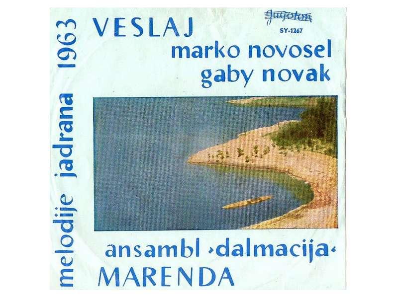 Marko Novosel, Gabi Novak, Ansambl `Dalmacija` - Melodije Jadrana 1963