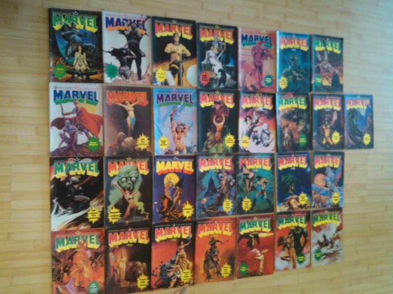 Marvel (mali) Komplet 1-32