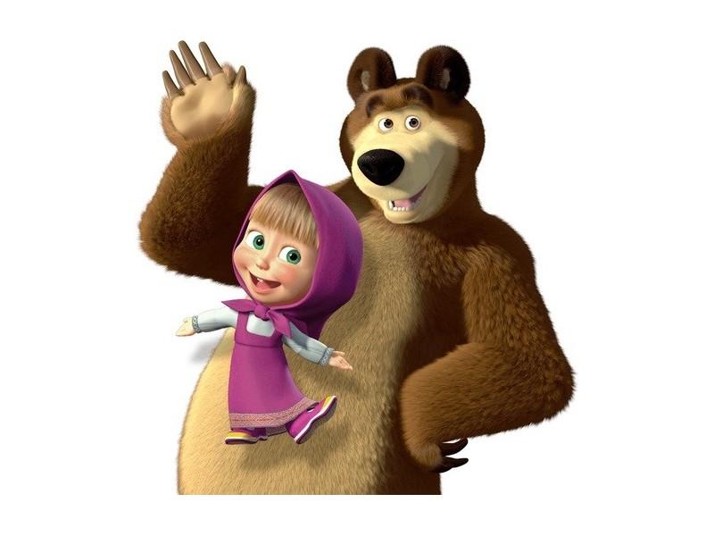 Maša i medved slicice na komad