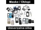 Maska / oklop za Nokia 2323 Classic crna (MS)