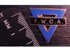 Mason znacka emajl masonska znacka Y.W.C.A. (298.)