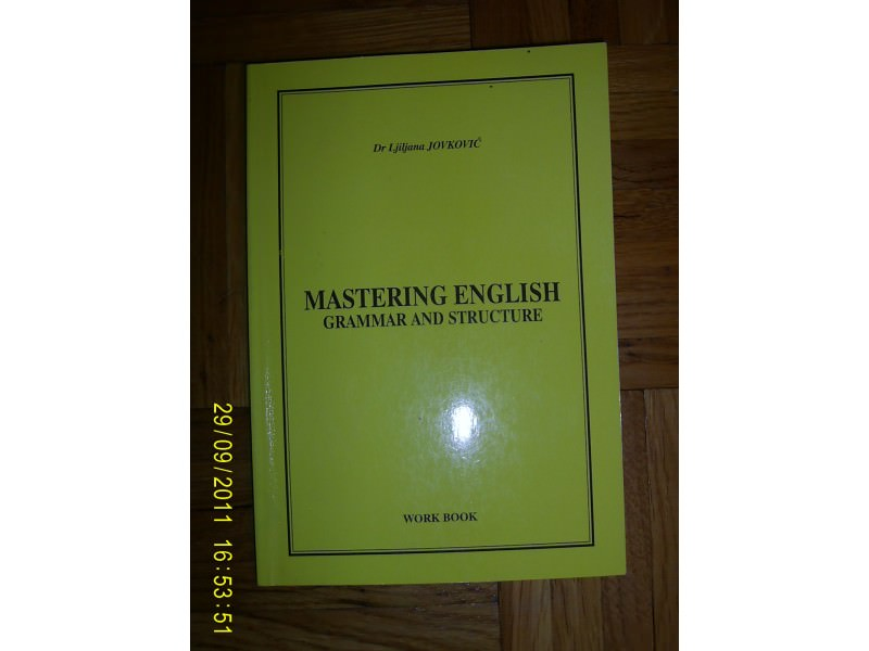 Mastering English grammar and structure